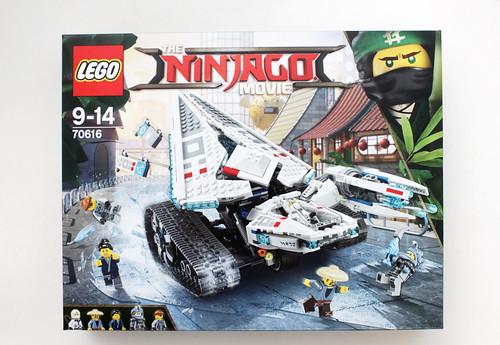 LEGO Ninjago Movie Ice Tank (70616) Review - The Brick Fan | The ...