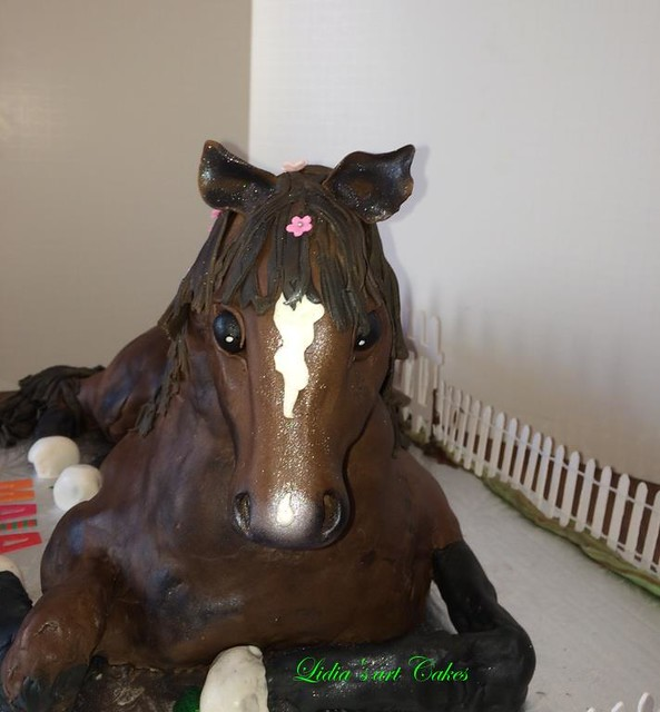 Horse Cake by Lidia Leonte of Lidia's Art Cakes