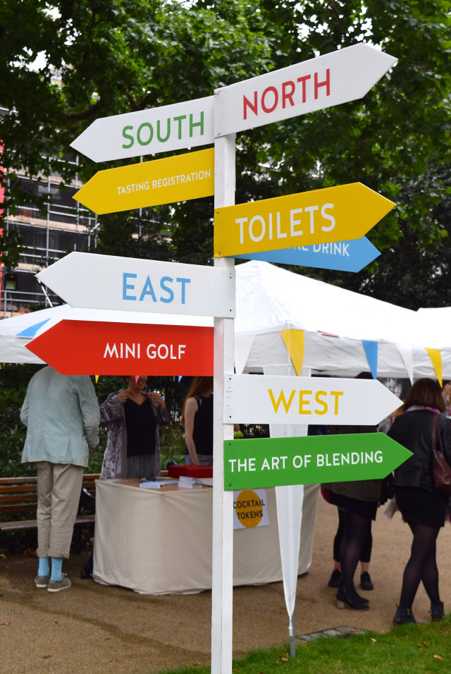 Signposts at Cocktails in the City | www.rachelphipps.com @rachelphipps