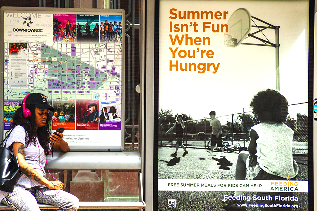 Summer Isn't Fun When You're Hungry poster on 7-29-17--Washington