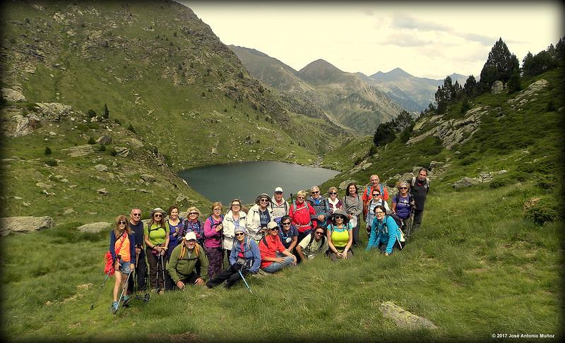 Andorra i els estanys de Tristaina
