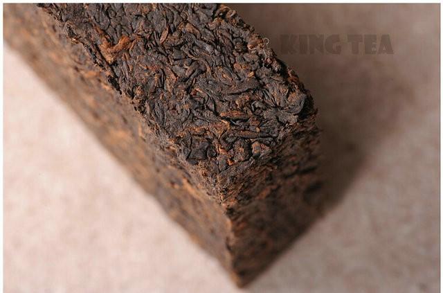 Free Shipping 2008 TAE TEA DaYi 7562 Brick Zhuan 250g YunNan MengHai Organic Pu'er Puerh Ripe Cooked Tea Shou Cha