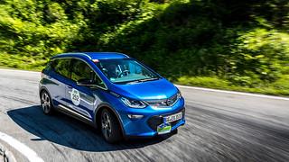 Ampera-e auf der Silvretta e-Auto 2017
