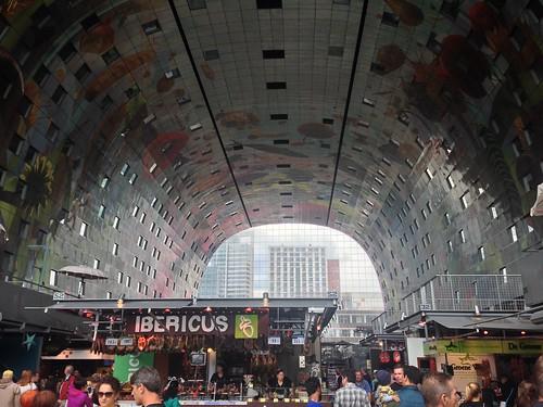 Markthal interior, Rotterdam