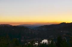 Sunset over Arrowbear Lake