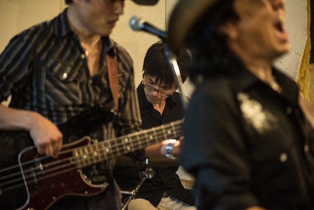Johnny Winter Tribute Festival 7 - 鈴木Johnny隆バンド live at Golden Egg, Tokyo, 16 Jul 2017 -7S-00457