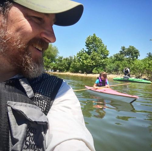 Kayaking at Stockton Lake