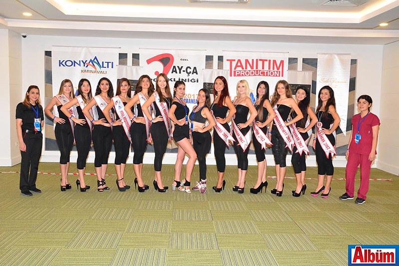 Miss Mediterranean 2017 Finalistleri Side'de -5