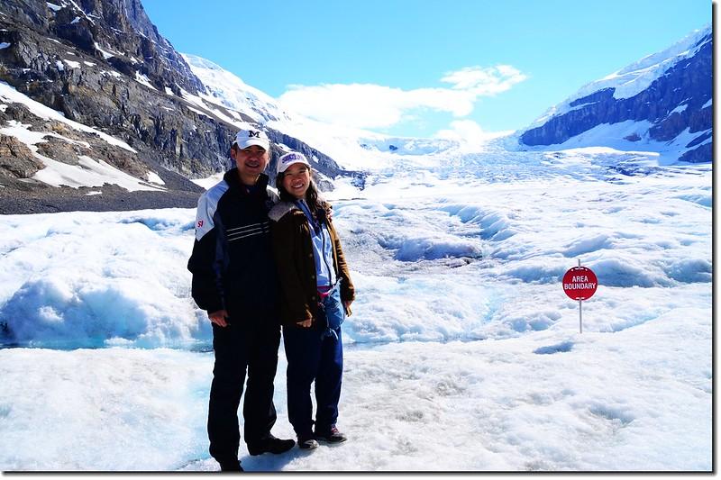 On Athabasca Glacier (5)