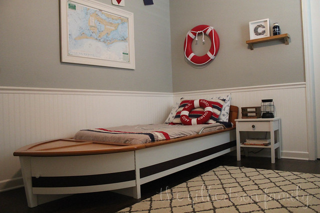 nautical boat bed
