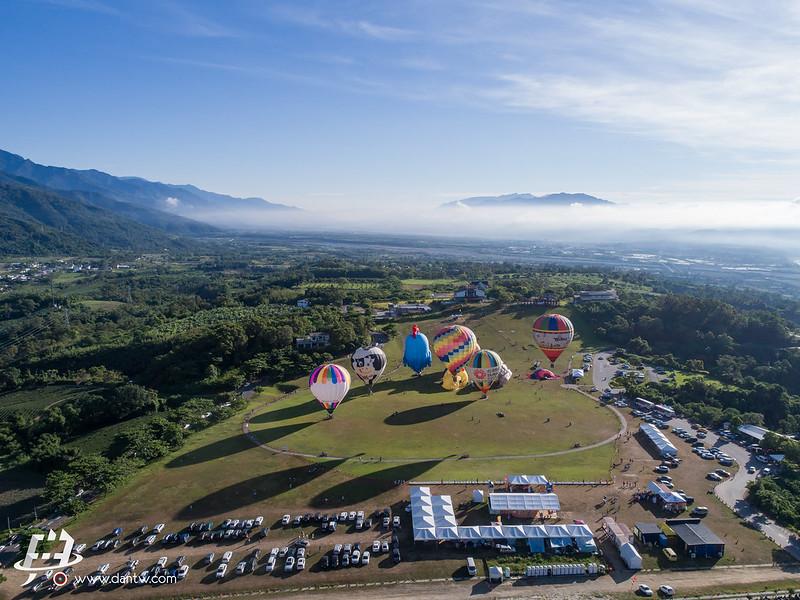 2017臺北世大運 聖火台東熱氣球傳遞 空拍攝影