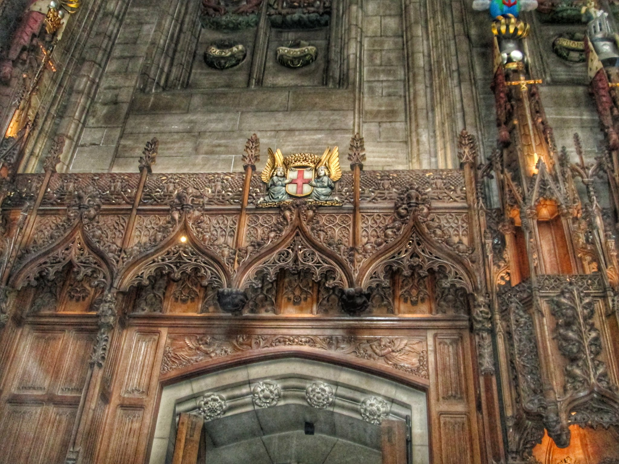 St Giles Cathedral thistle Chapel detail