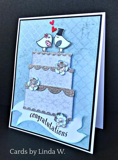 Wedding cake congrats