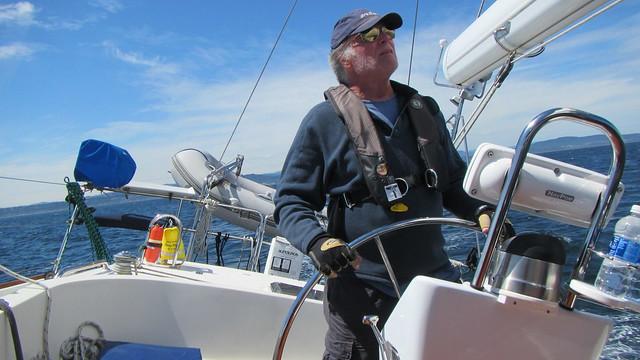 Mark enjoying his boat, Canon POWERSHOT D30