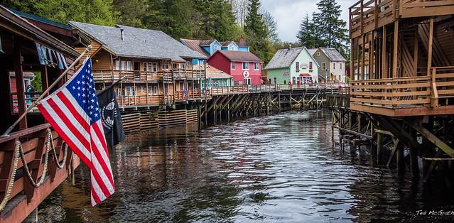 2017 - Alaska - Ketchikan - Creek Street