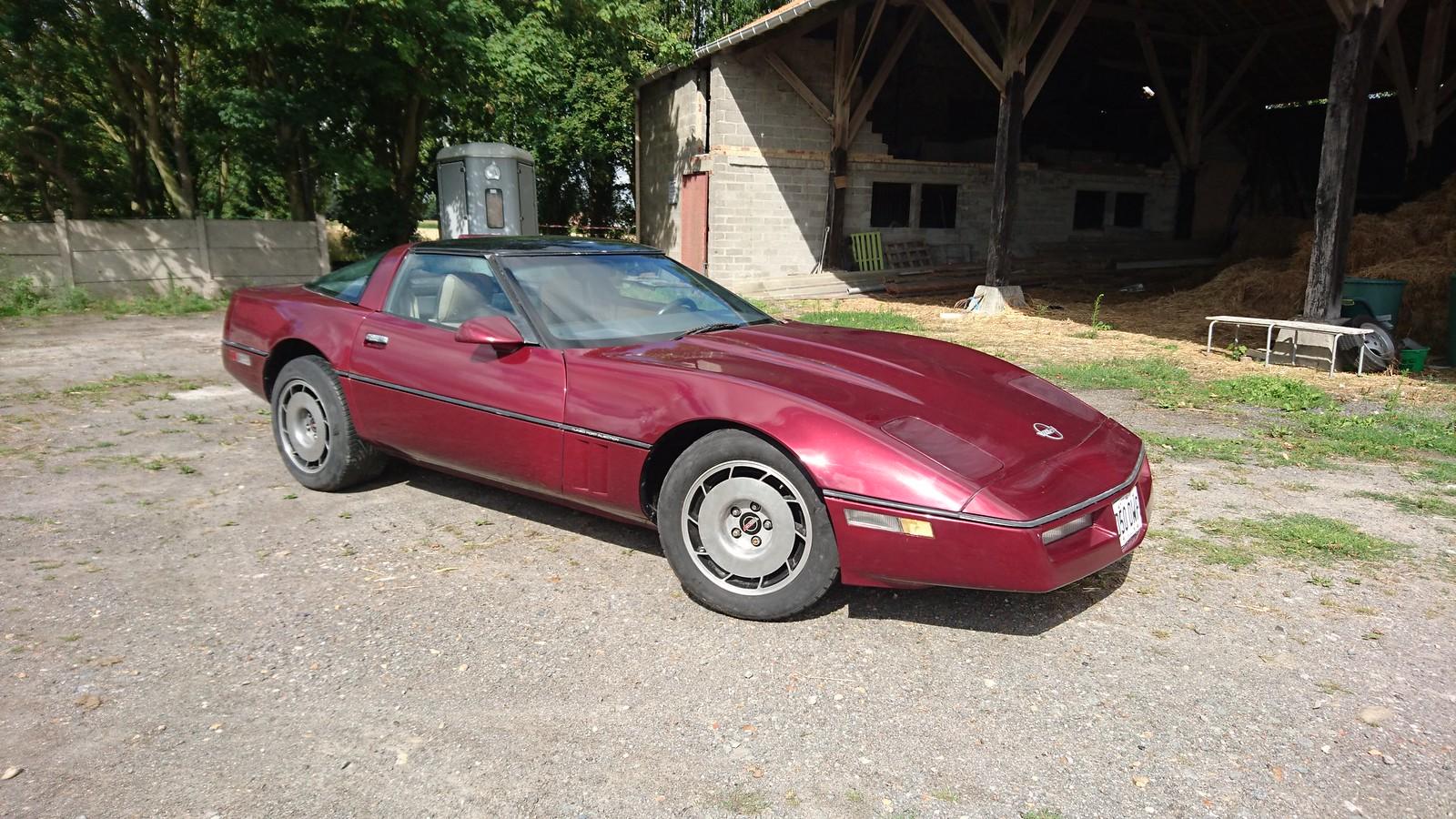 Restauration Corvette de 1987 Z52 35396103584_8f6b091927_h