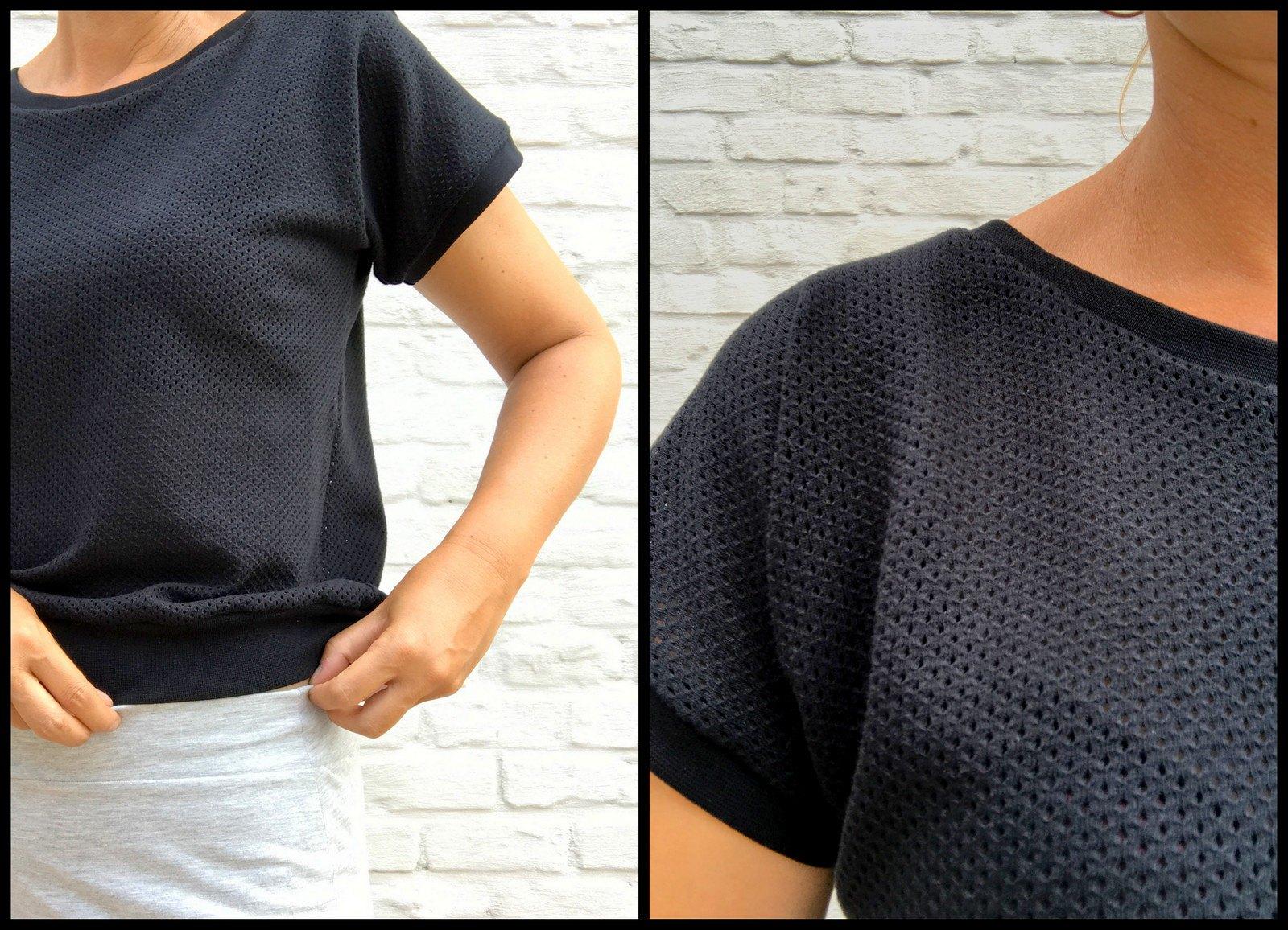 Georgette skirt + top
