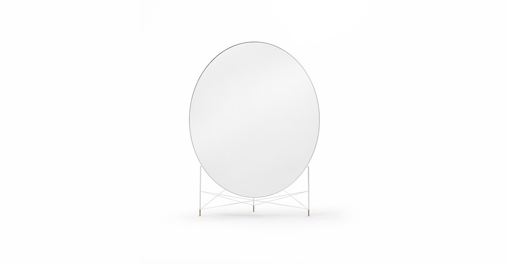 Freestanding mirror by Lithuanian architecture studio Heima for design brand jot.jot. Sundeno_04