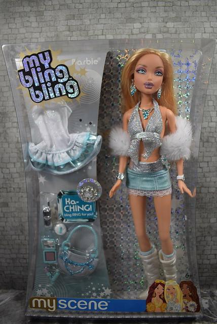 2005 Barbie My Scene My Bling Bling Barbie J1038 (2)
