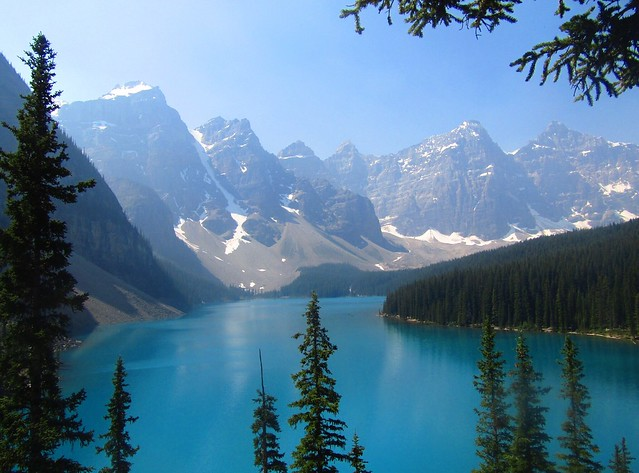 No filter Lake Moraine, Canon POWERSHOT SX420 IS