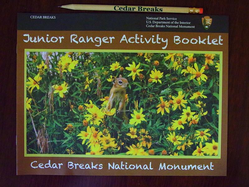 IMG_6671 Junior Ranger Activity Booklet