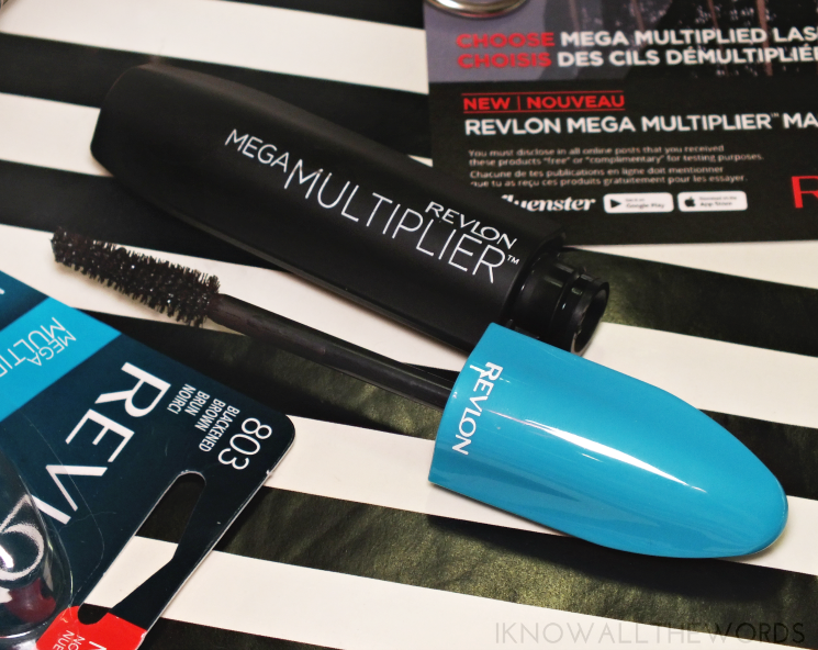 Revlon Mega Multiplier Mascara Blackened Brown (2)