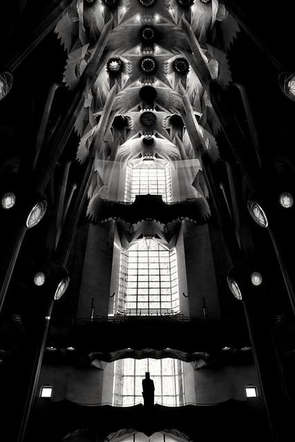 Antoni Gaudi Light Show