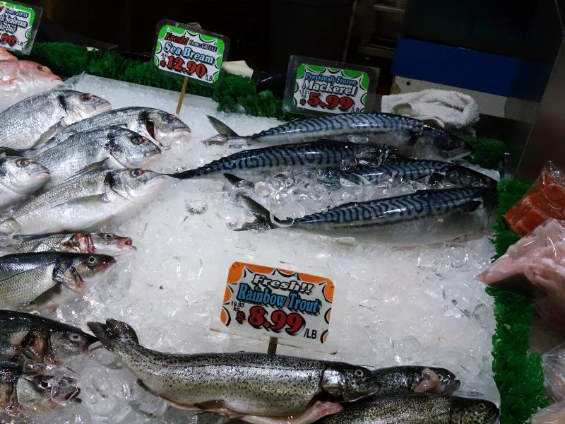Granville Island fish market