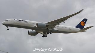 AIRBUS A350-900XWB LUFTHANSA F-WZFN MSN127 (D-AIXD) A L'AEROPORT TOULOUSE-BLAGNAC LE  10 07 17