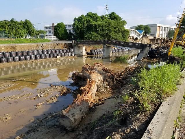2017年7月5日 九州北部豪雨 大分日田・福岡朝倉で災害ボランティア