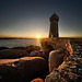Lighthouse at sunset by marko.erman