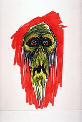 Ken Ralston sketch of the Emperor in The Empire Strikes Back (1980)