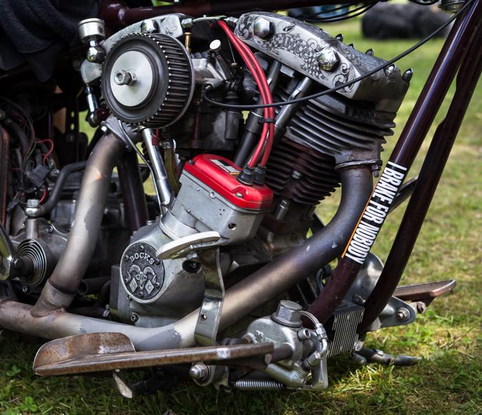 Joutsa Chopper Show 2017 Harley Davidson moottori V2 kone  (1 of 1)