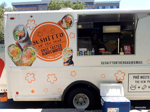 Sushitto on the Road food truck