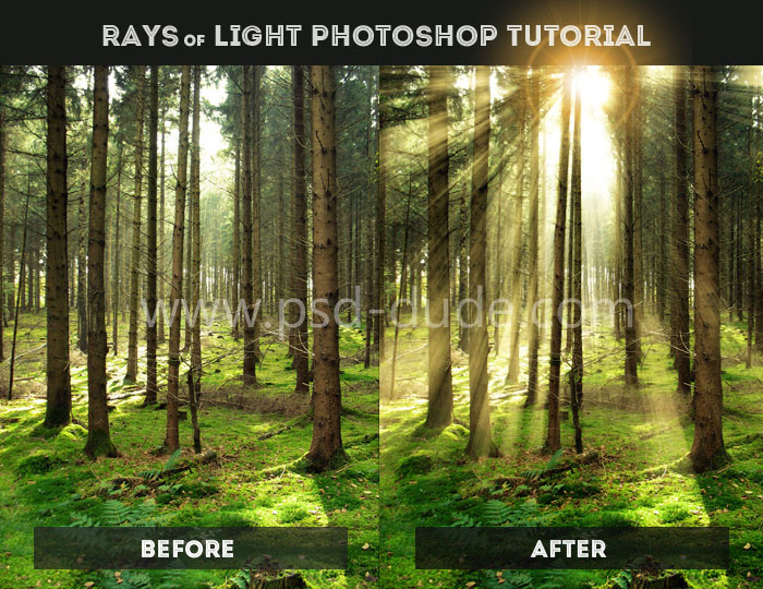 Create Your Own Light Ray Brushes From Scratch in Adobe Photoshop