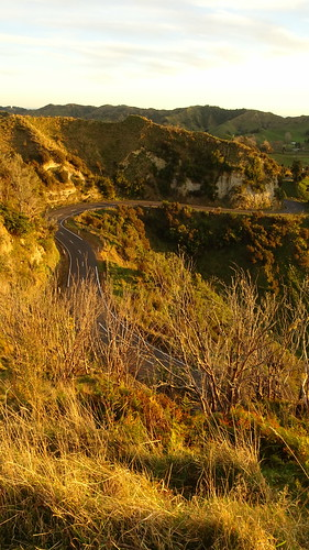statehighway43 sh43 ohura road ohuraroad douglas new zealand newzealand sunset sun set north island northisland
