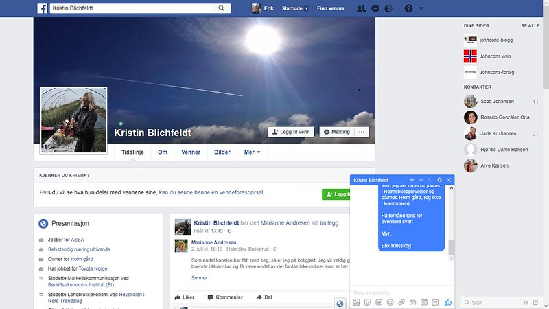 facebook blichfeldt