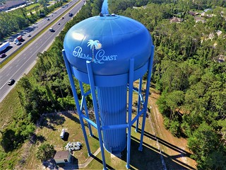 HM - William Clark - Our Iconic Palm Coast Watertower