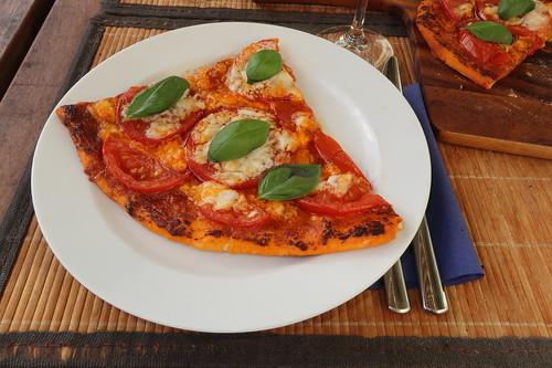 Pizza Margherita (mein 1. Viertel)