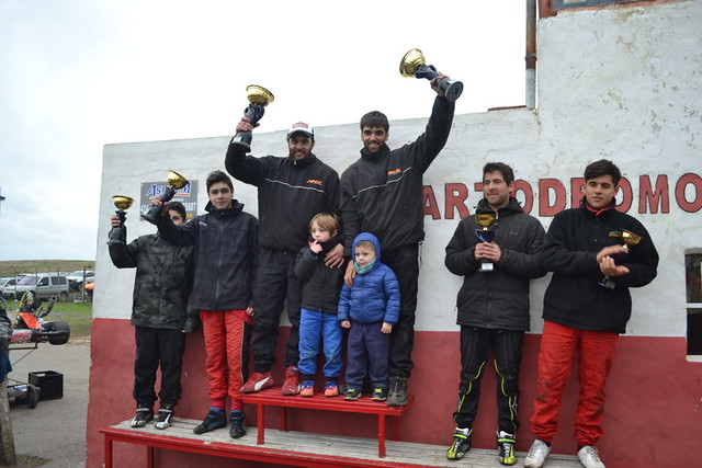 5° fecha Kart Regional en Balcarce