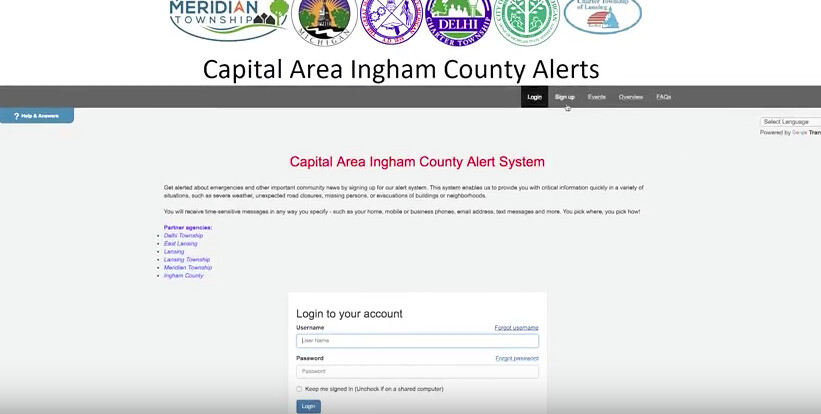 New Alert System provides Traffic, Weather, Event and Emergency Warnings