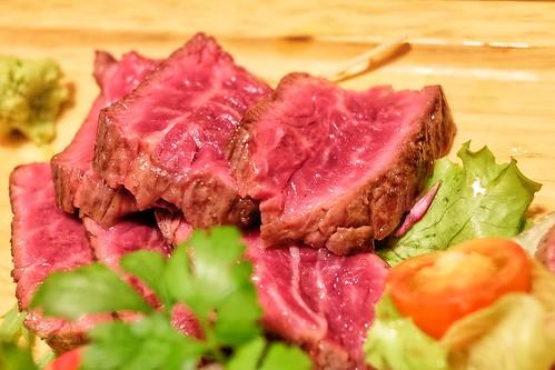 アンガス牛ハラミ 炭火焼きおまかせ5点盛 肉十八番屋 虎ノ門店