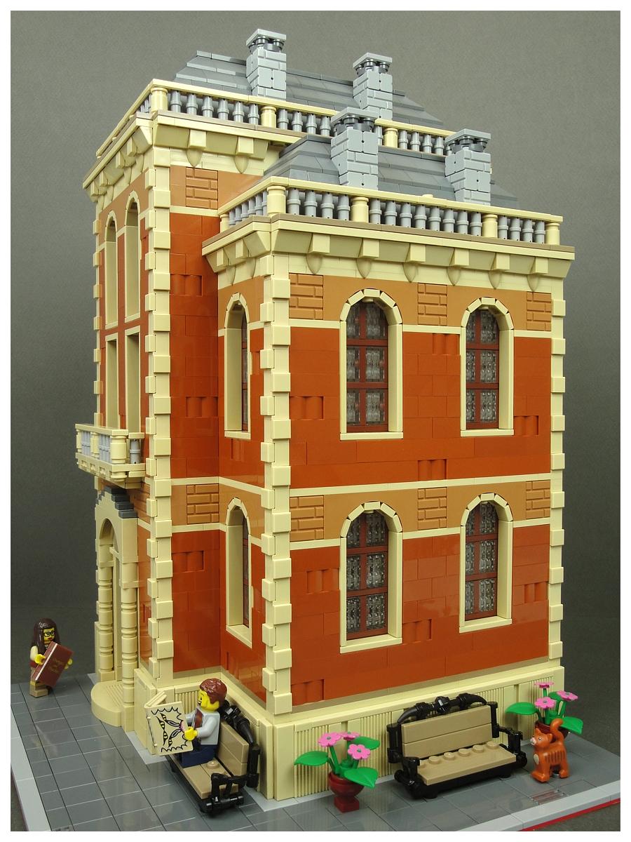 lego architecture самоделка