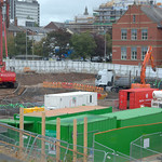 Building work at the Preston University of Central Lancashire