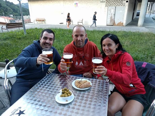 Getaria-Zarautz 2017. Relato y fotos