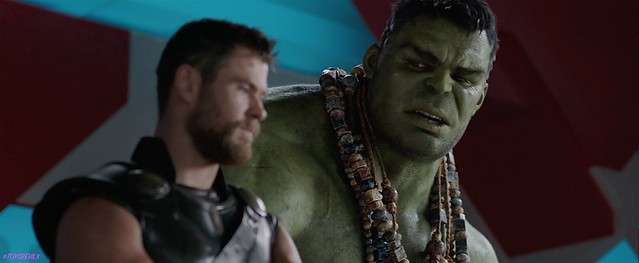 Thor Ragnarok Trailer 2 Screengrab Thor Hulk Chat