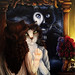 Phantom of the Opera Cat Painting