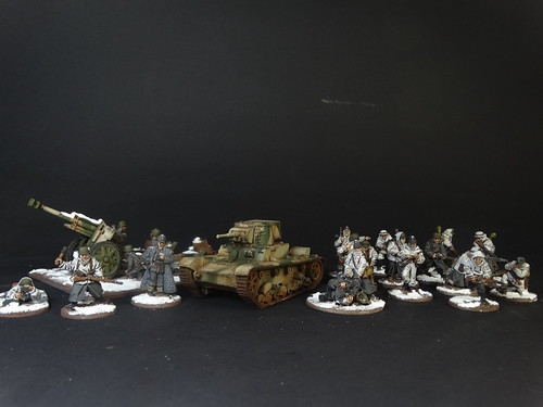 Bolt Action - Finish Army