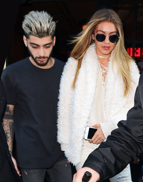 showed! supermodel Gigi Hadid name it quits with boyfriend Zayn Malik!