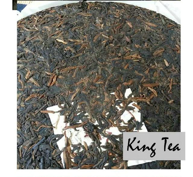 Free Shipping 2013 LaoMan'E QiaoMuJinYun Cake 357g China YunNan MengHai Chinese Puer Puerh Ripe Tea Cooked Shou Cha Premium Slim